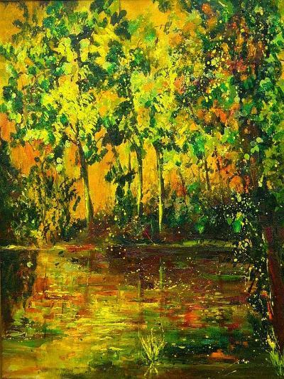 Pond-Pol Ledent-Art Print