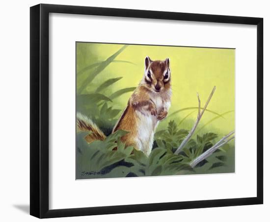 Pondering-Joh Naito-Framed Premium Giclee Print