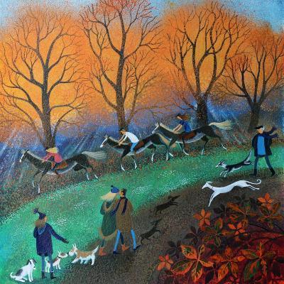 Ponies on the Common, 2017-Lisa Graa Jensen-Giclee Print