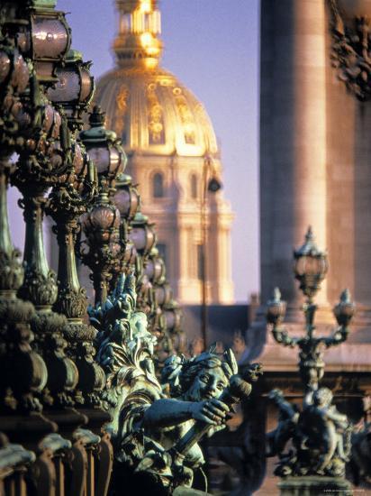 Pont Alexandra III, Paris, France-Jon Arnold-Photographic Print
