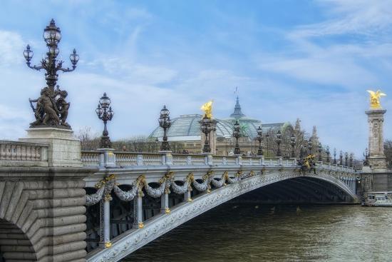 Pont Alexandre III - I-Cora Niele-Giclee Print