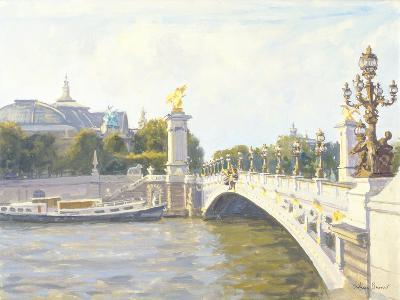 Pont Alexandre III, Paris-Julian Barrow-Giclee Print