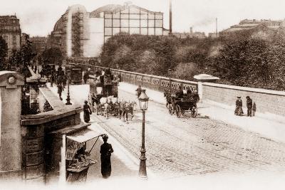 Pont Caulaincourt on the Corner of the Rue De Maistre, Montmartre, Paris, 1890--Photographic Print