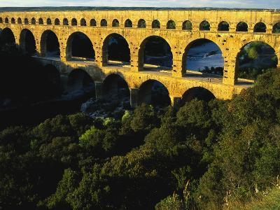 Pont Du Gard, Languedoc, France-Bruno Morandi-Photographic Print