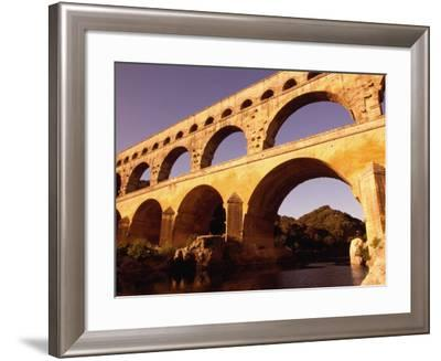 Pont Du Gard, Languedoc-Roussillon, France-Diana Mayfield-Framed Photographic Print
