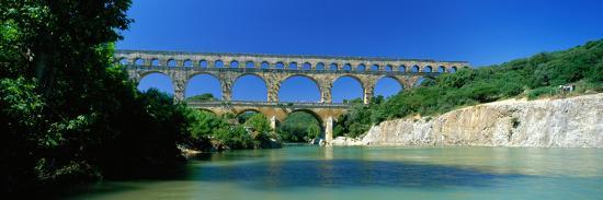 Pont Du Gard Roman Aqueduct Provence France--Photographic Print