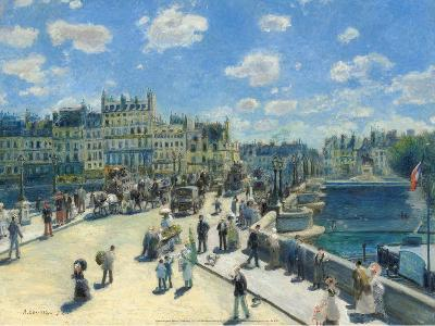 Pont-Neuf, 1872-Pierre-Auguste Renoir-Art Print