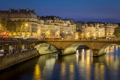 Pont Neuf and the Buildings Along River Seine, Paris France-Brian Jannsen-Photographic Print