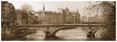 Pont Phillipe-Milla White-Art Print