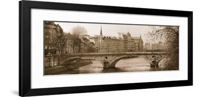 Pont Phillipe-Milla White-Framed Art Print