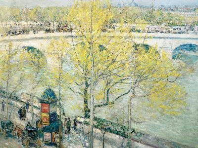 Pont Royal, Paris, 1897-Childe Hassam-Giclee Print