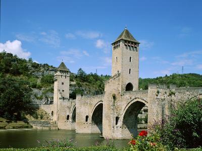 Pont Valentre and Lot River, Cahors, Lot Region, France--Photographic Print
