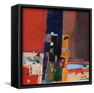 Pont-Mohammed Jassim Al-Zubaidi-Framed Art Print