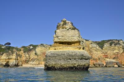 Ponta Da Piedade on the Algarve Coast-Kike Calvo-Photographic Print