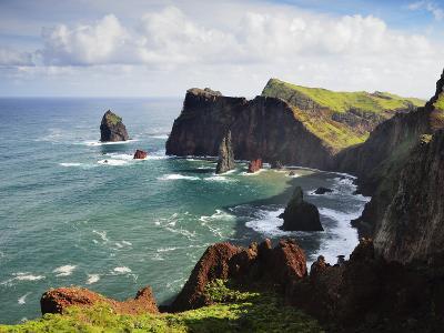 Ponta Do Castelo, Madeira, Portugal, Atlantic Ocean, Europe-Jochen Schlenker-Photographic Print