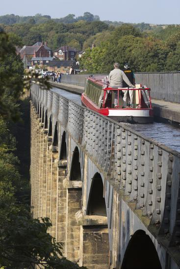 Pontcysyllte Aqueduct, Built 1795 to 1805, and the Ellesmere Canal-Stuart Black-Photographic Print