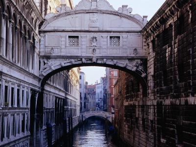 Ponte Dei Sospiri or The Bridge of Sighs, Venice, Italy-Glenn Beanland-Photographic Print