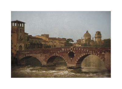 Ponte Pietra, Verona-Heather Jacks-Giclee Print