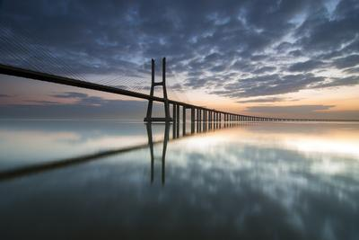 Ponte Vasco Da Gama E Rio Tejo- p_rocha-Photographic Print