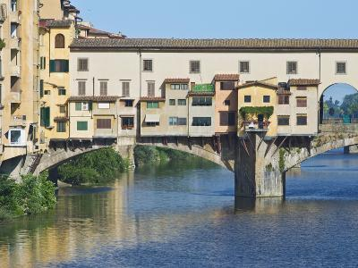 Ponte Vecchio at Sunrise, Florence, Tuscany, Italy-Rob Tilley-Photographic Print