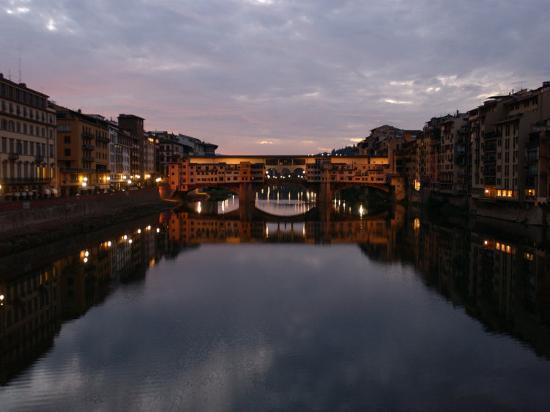 Ponte Vecchio, Florence, Italy-Keith Levit-Photographic Print