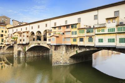 Ponte Vecchio, Florence, UNESCO World Heritage Site, Tuscany, Italy, Europe-Markus Lange-Photographic Print