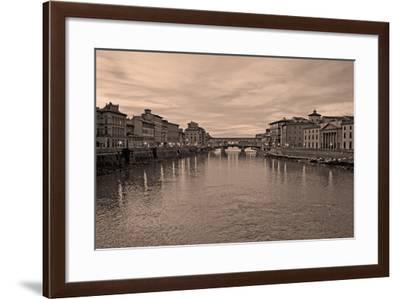 Ponte Vecchio VI-Rita Crane-Framed Photographic Print