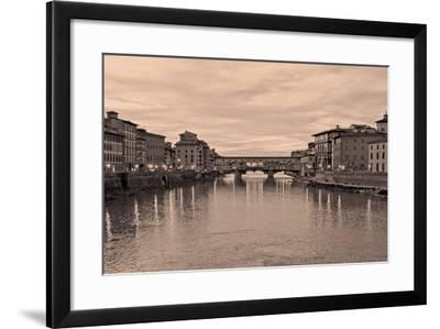 Ponte Vecchio VIII-Rita Crane-Framed Photographic Print
