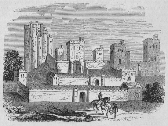 'Pontefract Castle', c1880-Unknown-Giclee Print