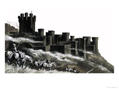 Pontefract Castle in the West Ridings, Yorkshire--Giclee Print