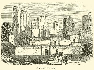 Pontefract Castle--Giclee Print