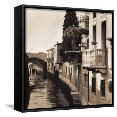 Ponti di Venezia No. 5-Alan Blaustein-Framed Canvas Print