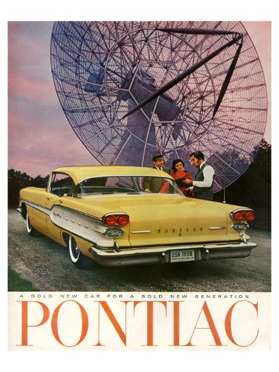 Pontiac-A Bold New Gerneration--Art Print