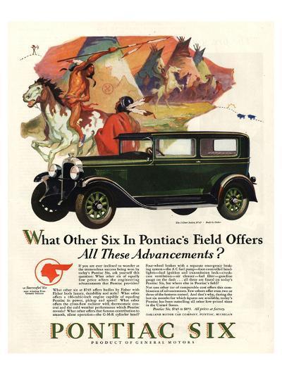 Pontiac-All These Advancements--Art Print