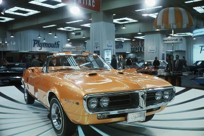 Pontiac Firebird at New York Auto Show--Photographic Print