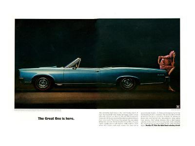 Pontiac-The Great One is Here--Art Print