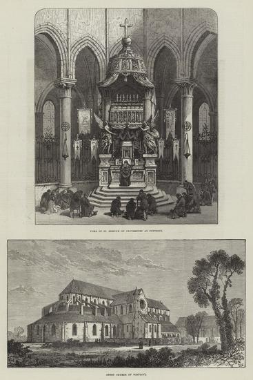 Pontigny Abbey--Giclee Print