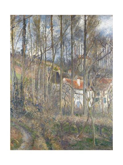 Pontoise - the Cite Des Boeufs and the Hermitage-Camille Pissarro-Giclee Print