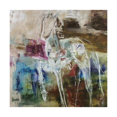 Pony in Teal-Jodi Maas-Giclee Print