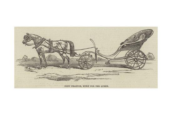 Pony Phaeton for Her Majesty--Giclee Print