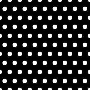 Black And White Dots Background by poofy