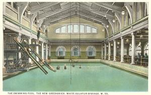 Pool, Greenbrier Hotel, White Sulphur Springs, West Virginia