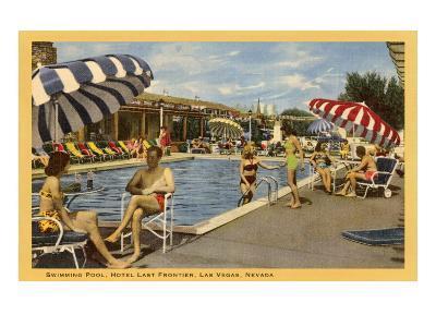 Pool, Hotel Last Frontier, Las Vegas, Nevada--Art Print