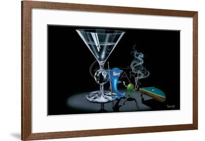 Pool Shark-Michael Godard-Framed Art Print