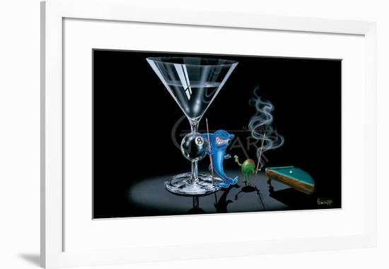 Pool Shark-Michael Godard-Framed Art Print
