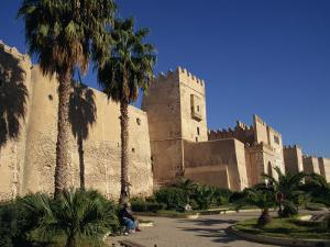 Aghlabid Ramparts, Walls of Medina, Sfax, Tunisia, North Africa, Africa by Poole David