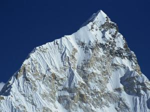 Snow Covered Nuptse Peak Seen from Kala Patar in the Himalayas, Nepal by Poole David