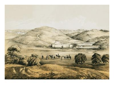 Pools of Solomon with Distant View of Bethlehem-English-Giclee Print