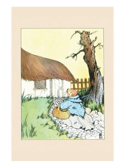 Poor Guinea Pig-Frances Beem-Art Print