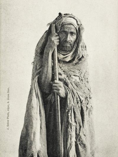 Poor Man - Sidi Meskine, Algeria--Photographic Print